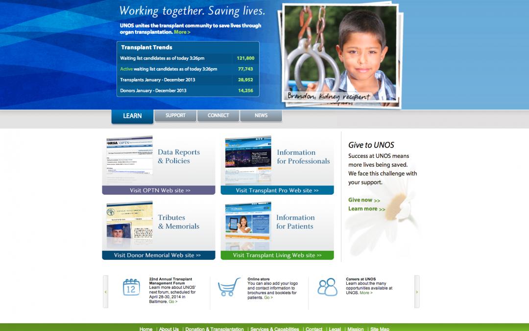 UNOS Web Site