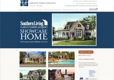 Creative Home Concepts Web Site
