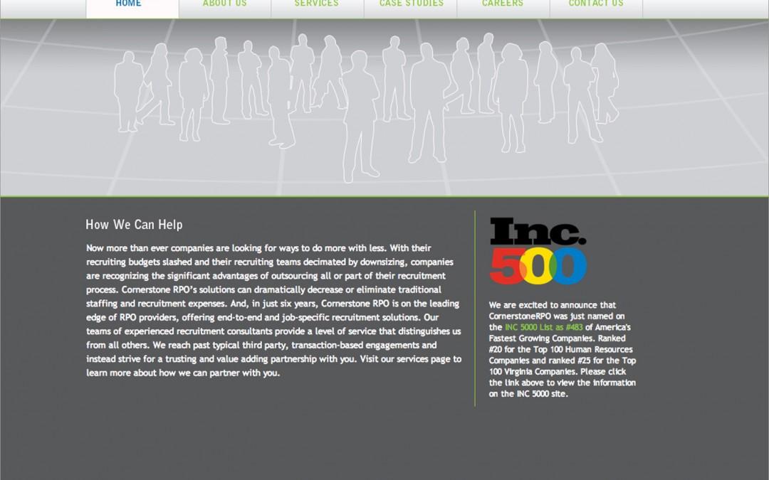 Cornerstone RPO Web Site