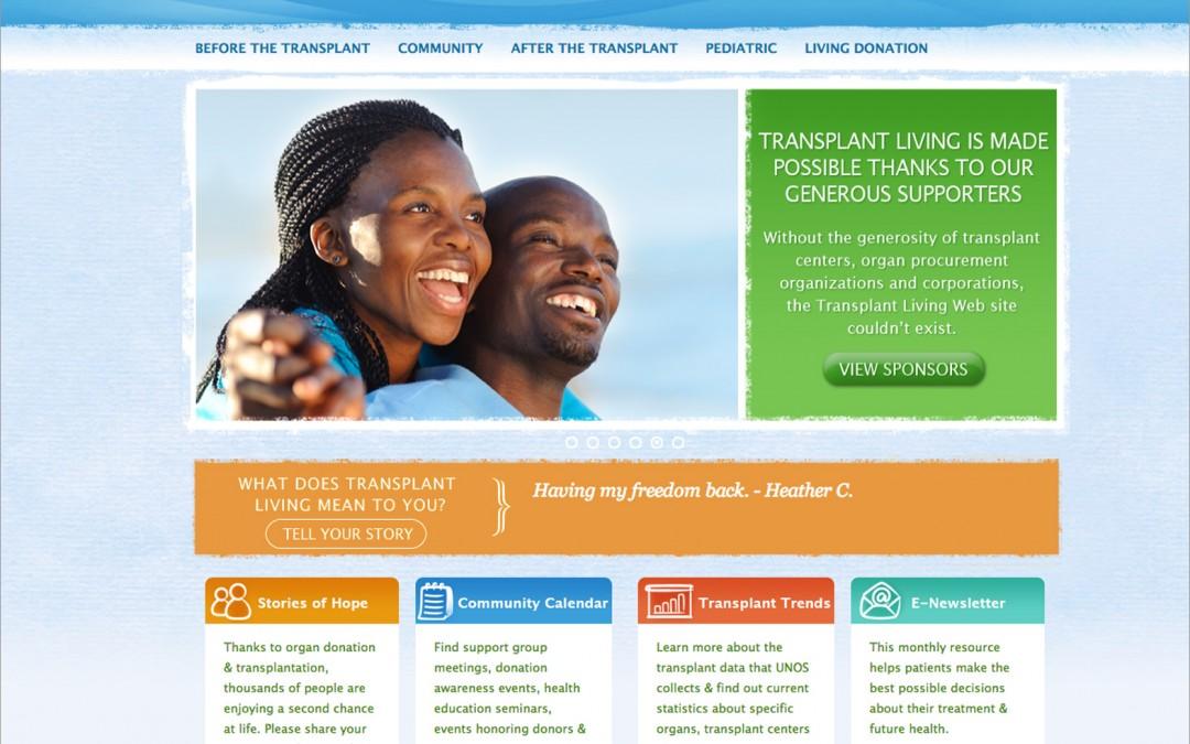 Transplant Living Web Site