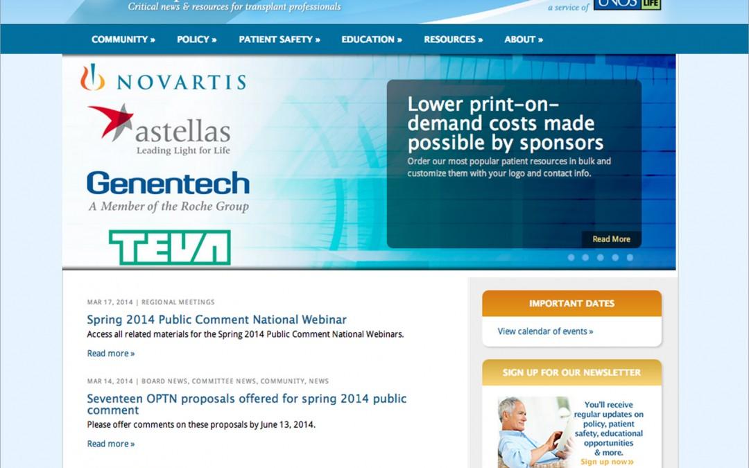 Transplant Pro Web Site