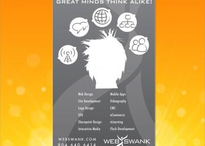 Webswank Print Ad